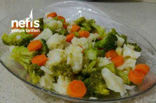 Buharda Sebze Salatası Tarifi