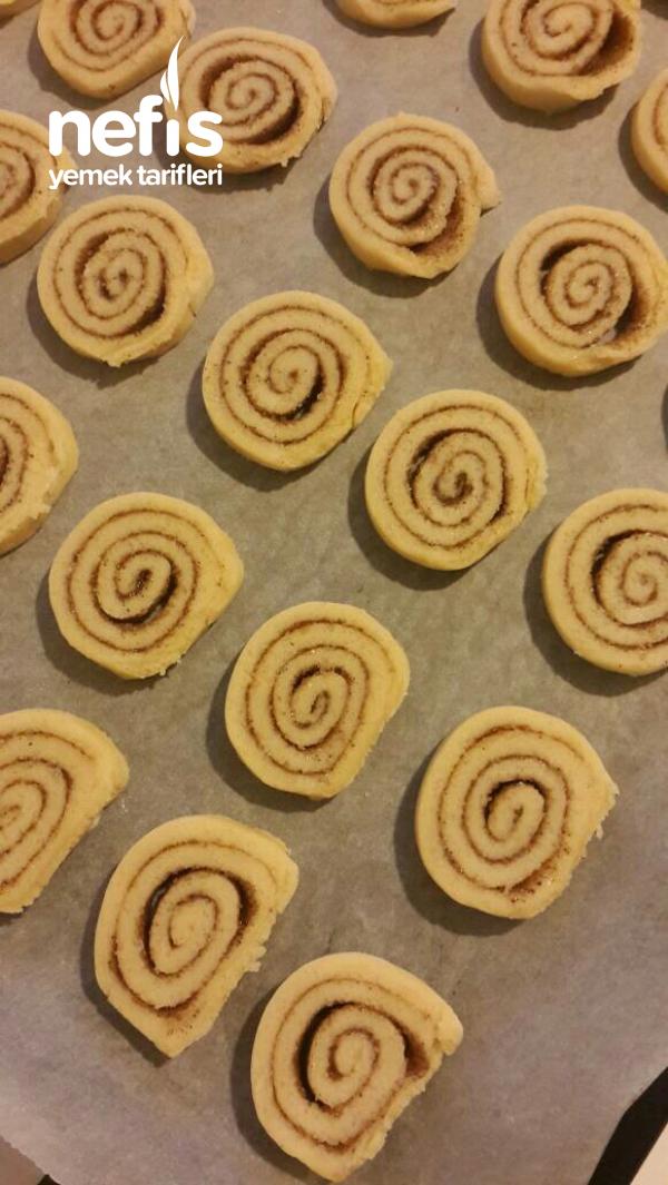 Cinnamon Rolls Cookies(tarçınlı Rulo Kurabiye)