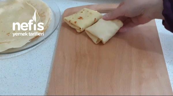 Kahvaltılarınızın Favorisi Olacak Krep Börek (Videolu)