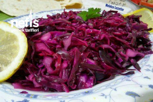 Kebapçı Mor Lahana Salatası Tarifi