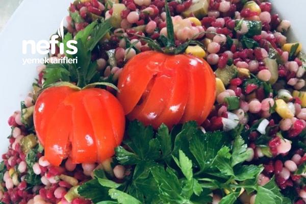 Şalgamlı Bulgur Kuskus Salatası Tarifi