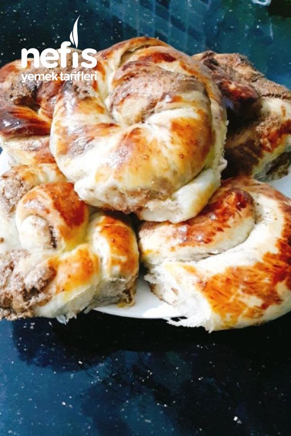 Tel Tel Ayrılan Pofidik Haşhaşlı Çörek