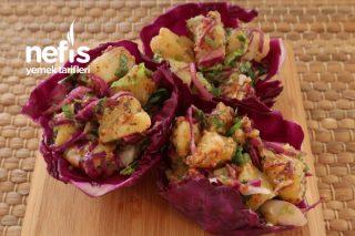 Yapımı Kolay Lezzeti Harika Hardallı Patates Salatası Tarifi
