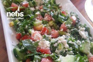Çingene Salatası (Pilavı) Tarifi