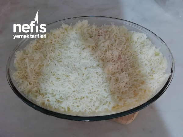 Fırında Patates Püreli Köfte