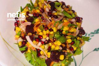 Narlı Kırmızı Pançarlı Salata Tarifi