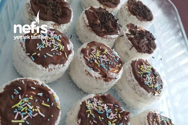 Burçak Bisküvili Mini Pastalar ( Sadece 4 Malzeme İle) Tarifi