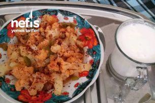 Diyet Zeytinyağlı Karnabahar Yemeği Tarifi