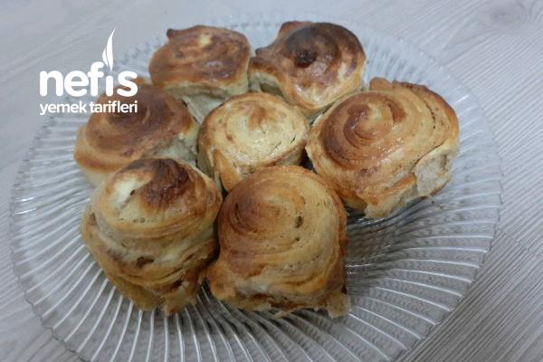 Haşhaşlı Rulo Çörek ( Kıyır Kıyır ) Tarifi