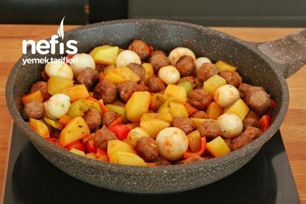 Köfteli Kağıt Kebabı Tarifi