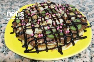 Waffle (Tost Makinasında) Tarifi