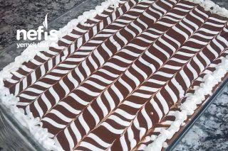 Çikolatalı Kremasıyla Borcamda Kolay Pamuk Pasta Tarif Tarifi