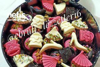 Kalıpta Şekilli Çikolata Tarifi