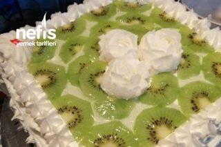 Kayınvalidemin Doğum Günü Pastası (Meyveli Yaş Pasta) Tarifi