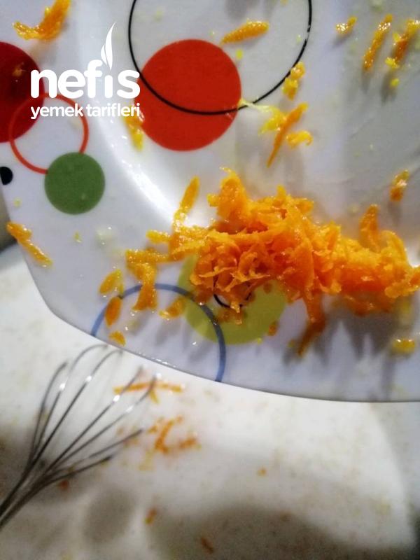 Portakallı Muhallebili Tatlı (Cheesecake Tadında)
