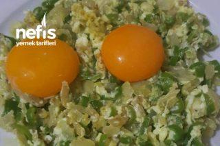 Biberli Soğanlı Yumurta Tarifi
