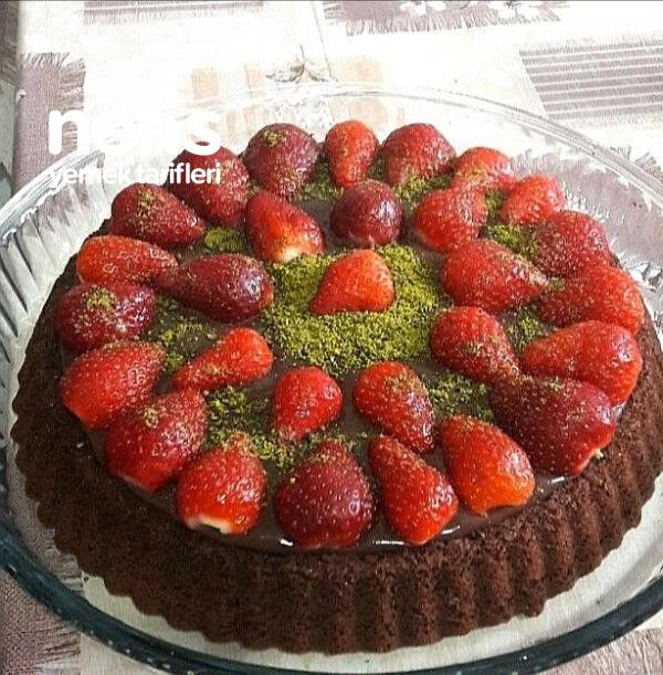 Çikolata Ganajlı Tart Kek