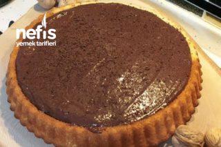 Çikolatalı Creamole Soslu Tart Kek Tarifi