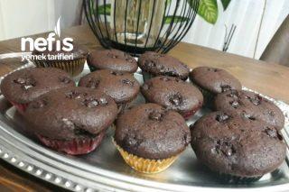 Kızımın Damla Çikolatalı Kakaolu Muffini Tarifi