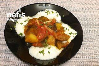 Kolay Patatesli Patlıcan Yemeği Tarifi
