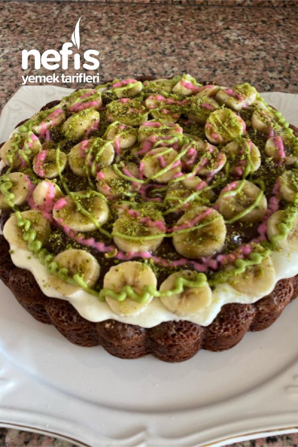 Kremalı-pudingli Tart Kek