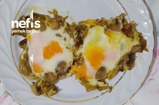 Mantarlı Soğanlı Enfes Yumurta Tarifi