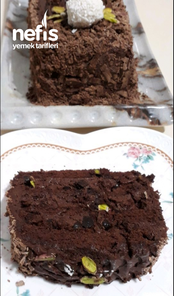 Yiyenlerin Hazir Zannettiği Çikolatalı Baton Pasta (Hazır Almaya Son)