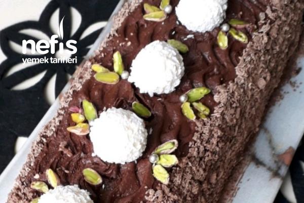 Yiyenlerin Hazır Zannettiği Çikolatalı Baton Pasta (Hazır Almaya Son) Tarifi