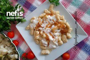 Gnocchi (Evde Yapılabilecek İtalyan Makarna) Tarifi