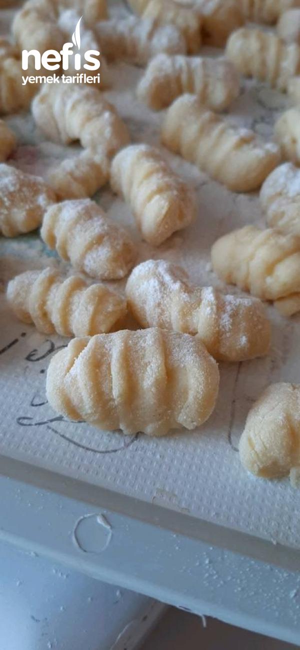 Gnocchi (Evde Yapılabilecek İtalyan Makarna)
