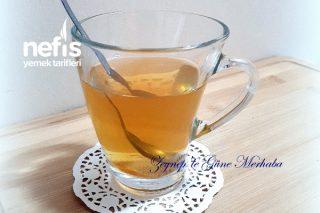 Grip İçin Şifa Kış Çayı ( Ihlamur Limon Tarçın Ayva Kabuğu Ada Çayı Ceviz Perdesi Elma ) Tarifi