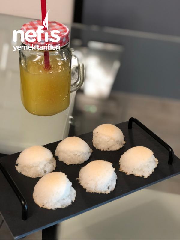 hindistan cevizi kurabiye