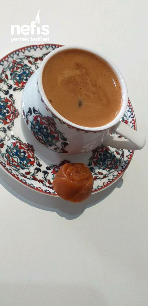 Karamelli Türk Kahvesi