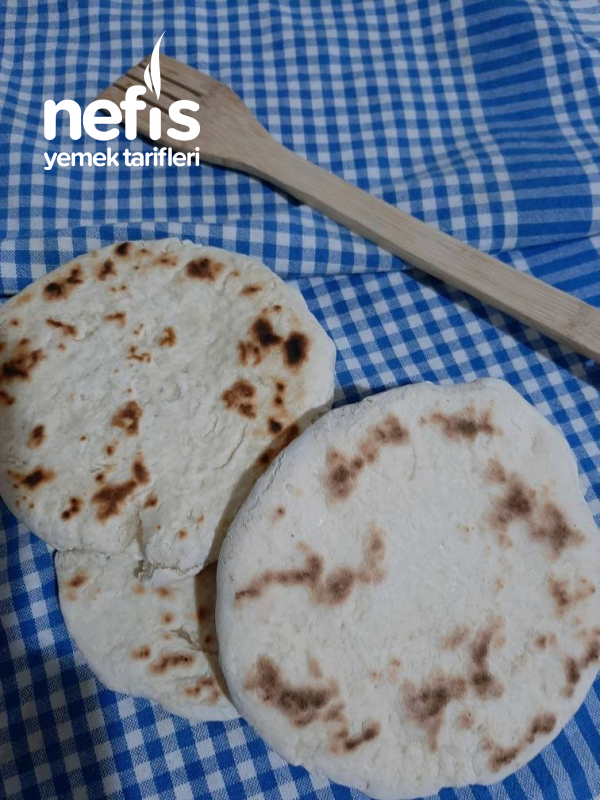 Mayasız Sac Ekmeği (Bazlama)