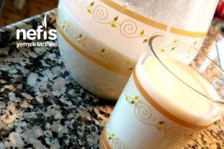 Muzlu Ballı Süt Tarifi
