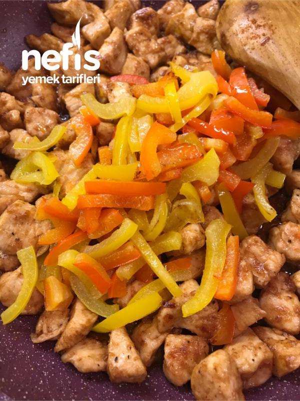 Nefis Barbeküs Tavuk Menüsü