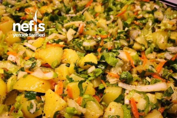 Patates Salatası Tarifi En Pratik En Lezzetli Tarifi (Videolu)