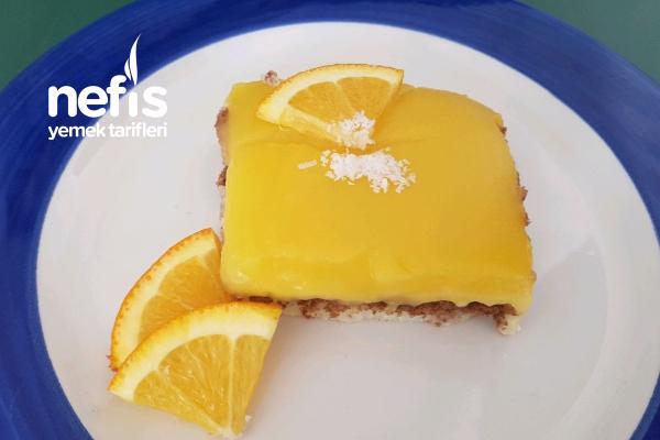 Portakal Ve Mango Soslu Sütlü İrmik Tatlısı Tarifi