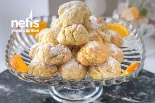 Portakallı Haşhaşlı Çatlak Kurabiye (Nefis Tarif) Tarifi