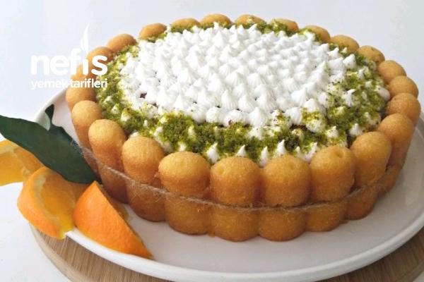 Portakallı Revani Yumurta Kokmayan Nefis Bir Tatlı (Videolu) Tarifi