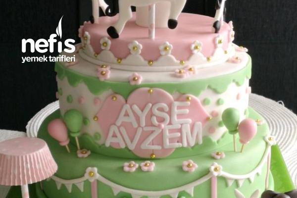 Atlı Karıncalı Doğum Günü Pastası Tarifi