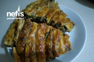 Çıtır Çıtır Kıymalı Ispanaklı Börek Tarifi