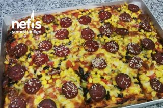 Ev Yapımı Muhteşem Pizza Tarifi