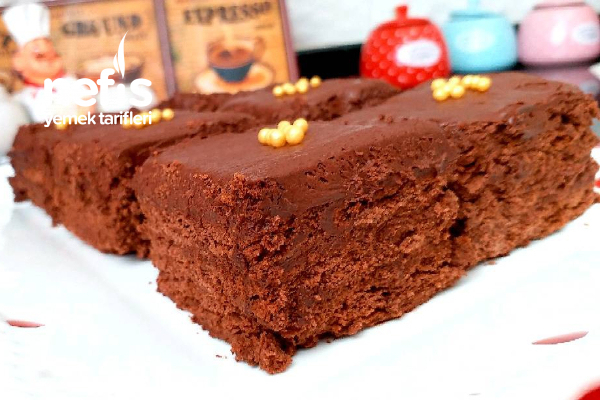 Fırın Yok Ocak Yok Çikolatalı Bisküvili Köpük Pastası (Favoriniz Olacak) Tarifi