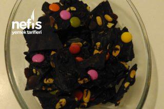 Fıstıklı Bitter Çikolata Tarifi