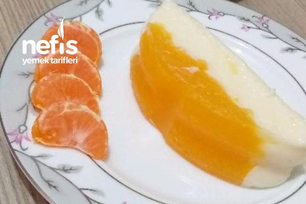 Portakallı Mandalinalı Muhallebi Tarifi