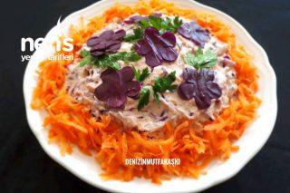 Rengarenk Salata (Mor Lahanalı) Tarifi
