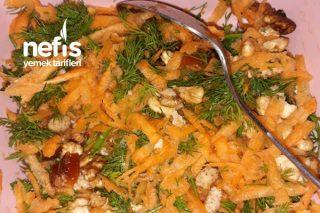 Havuç Salatası (Anne Sütü Hem Attırıyor Hem Besliyor) Tarifi