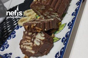 Beş Dakikada Az Malzemeli Mozaik Pasta (At Buzluğa Acil Durumda Çıkar) Tarifi