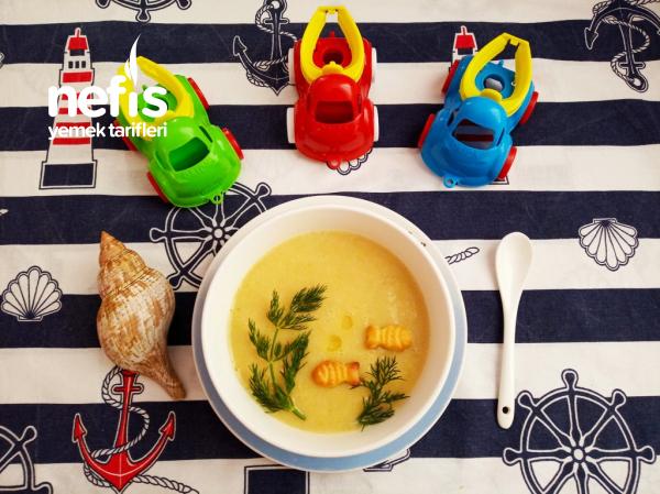 Çocuklarımız İçin Nefis Balık Çorbası 9 Ay+